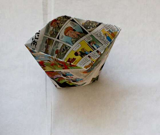 Earth Day compost origami Photo: Russell Yip, The Chronicle