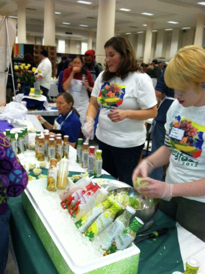 Lectures, exhibits and demonstrations will be featured at the inaugural Connecticut Vegetarian and Healthy Living Festival on Saturday and Sunday, April 28-29, in Hartford. Photo: Contributed Photo