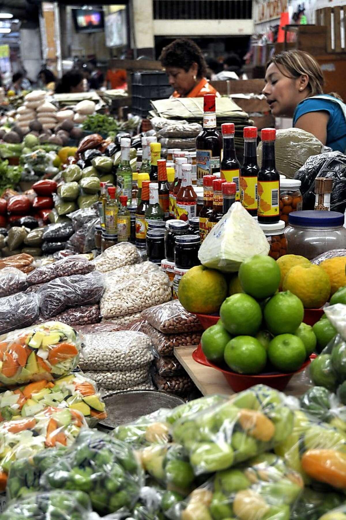 A visit to Mercado Lucas de Galvez, a traditional Mexican market sprawling over several blocks, can be a crash course in the Yucatan's unique cuisine.