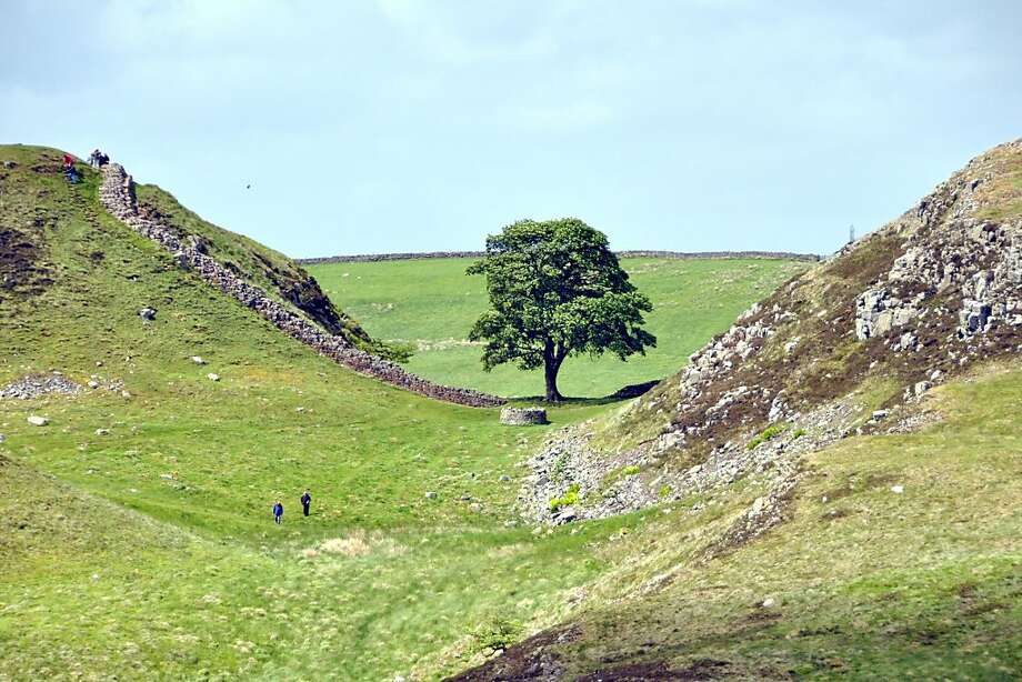 The Hadrian's Wall is the remains of the fortification the Romans built nearly 2,000 years ago to mark the northern end of their empire, where Britannia stopped and where the barbarian land that would someday be Scotland began. Photo: Rick Steves, Special To The Chronicle