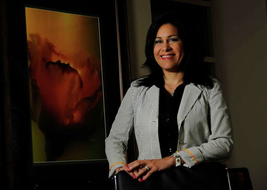 Wilka Toppins es la presidenta de la Cámara de Empresarios Latinos de Houston. Photo: Mayra Beltran / © 2012 Houston Chronicle