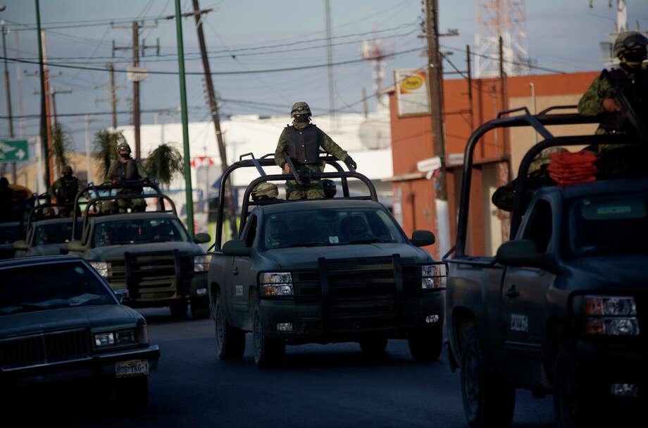 Patrullaje en Tamaulipas: el ejército mexicano está desplegado ampliamente por zonas de narcotráfico. / DirectToArchive