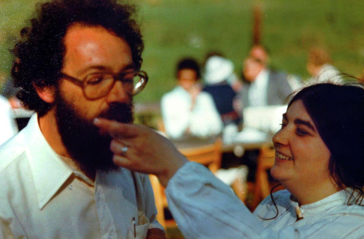 John Heath and his wife Elizabeth Gough-Heath on her wedding day in 1978. Elizabeth disappeared in 1984.