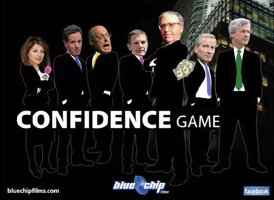 The Connecticut Film Festival will open Thursday, April 26, with a 6 p.m. showing of  ìConfidence Gameíí at the Palace Theatre in Danbury. It will be followed by a panel discussion of top journalists and financial experts who will discuss Bear Stearns and its fall in the Great Recession. Photo: Contributed Photo