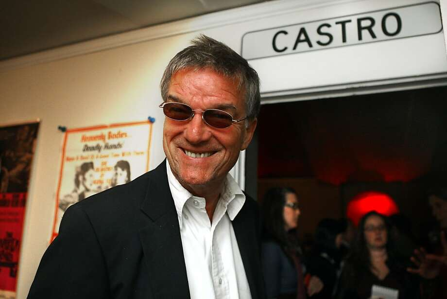 French director Benoit Jacquot makes an appearance at the Castro Theater in San Francisco, Calif., for the opening of the 55th San Francisco International Film Festival on Thursday, April 19, 2012. Photo: Liz Hafalia, The Chronicle