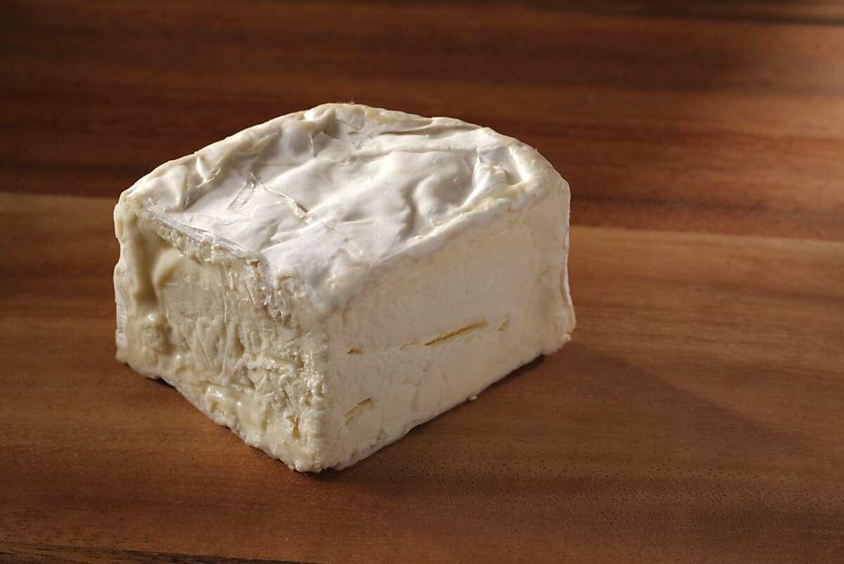 Nettle Meadow Farm's Kunik, a triple-cream goat cheese from New York as seen in San Francisco on April 11, 2012.