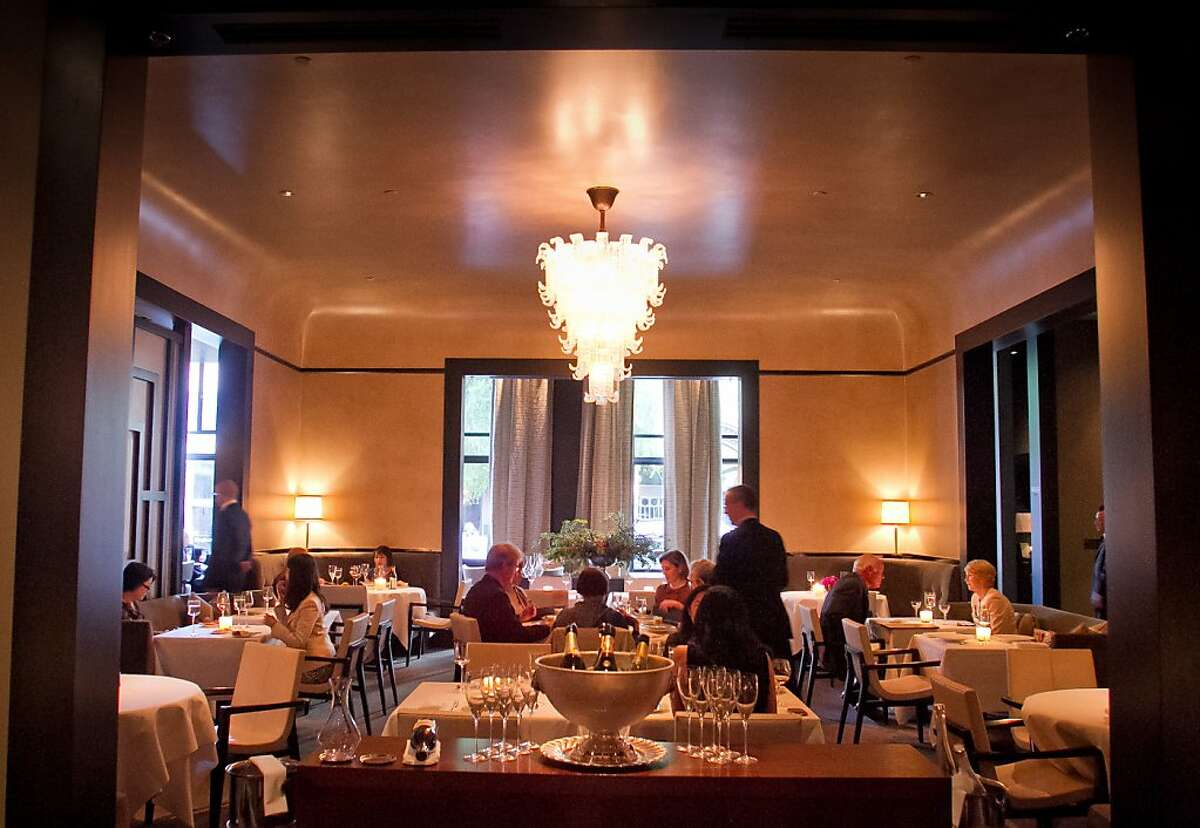 The dining room at Quince Restaurant in San Francisco, Calif., is seen on Thursday April 6th, 2012.