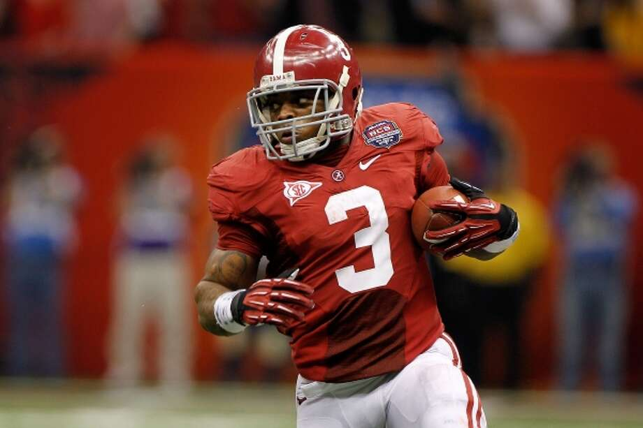 4. Cleveland: RB Trent Richardson, Alabama Mock 3 pick: Richardson. Comment: Nothing like a workhorse running back to take pressure off the quarterback and help control the clock. (Chris Graythen / Getty Images)