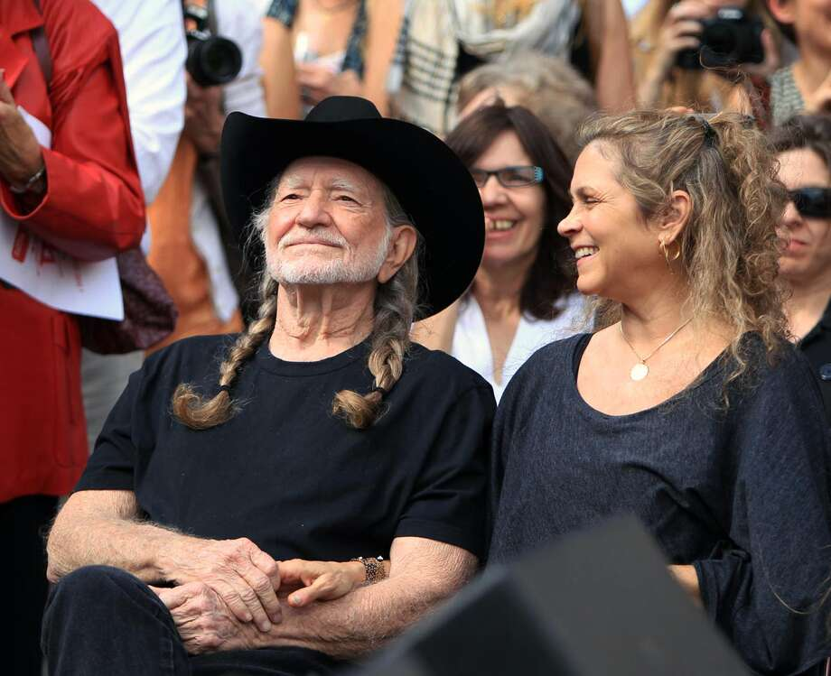 Annie D'Angelo Nelson is starting a marijuana-based company in conjunction with her husband Willie Nelson's cannabis company.  Photo: Jay Janner / Austin American-Statesman