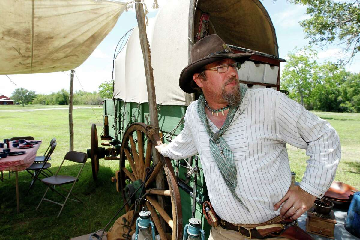 Nick Castelberg has been the top cook at Richmond's George Ranch Historical Park for 11 years.