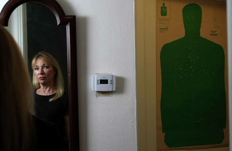 Linda Geffin was attacked and beaten in her home by an unknown assailant after spending years as the county's lead enforcer for shutting down or evicting a string of rogue massage parlors, strip clubs and bars. Photo: Karen Warren / © 2012  Houston Chronicle