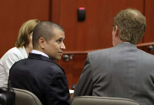 April 20, 2012 – At a bond hearing – his first public court appearance – George Zimmerman apologizes to Martin's family for the death of their son. Bond is set at $150,000. Photo: Gary W. Green, Associated Press