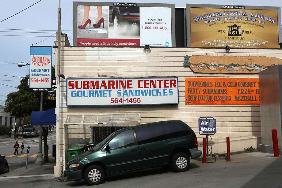 The Submarine Center in San Francisco, Calif.,  on Wednesday, April 11, 2012. Photo: Liz Hafalia, The Chronicle