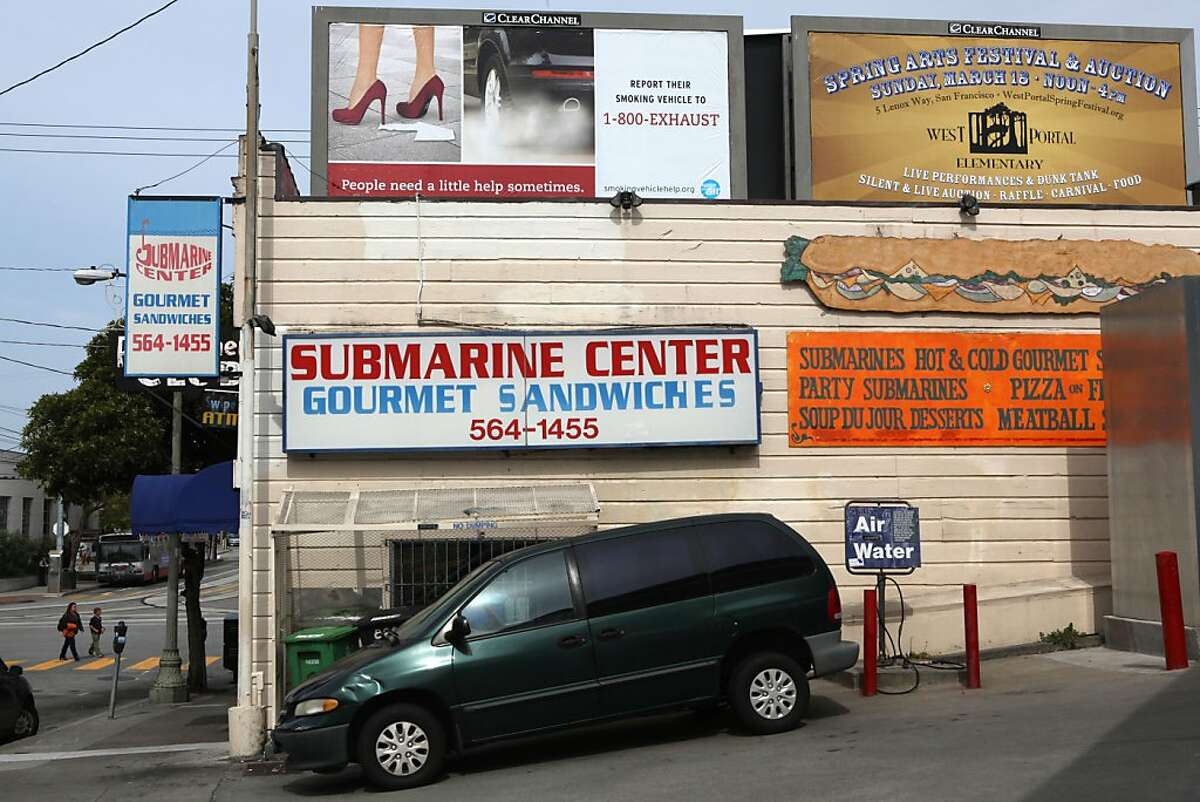 The Submarine Center in San Francisco, Calif., on Wednesday, April 11, 2012.
