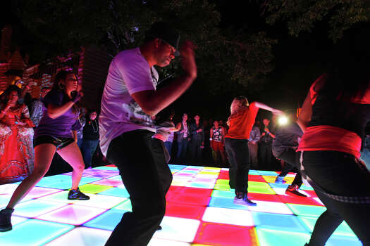 Local hip-hop dance group Unifyd Soul performs during the Fiesta WEBB Party benefiting San Antonio AIDS Foundation at Lambermont Estate on East Grayson Street, Friday, April 20, 2012. (JENNIFER WHITNEY) Photo: JENNIFER WHITNEY, Jennifer Whitney/ Special To The Express-News / special to the Express-News