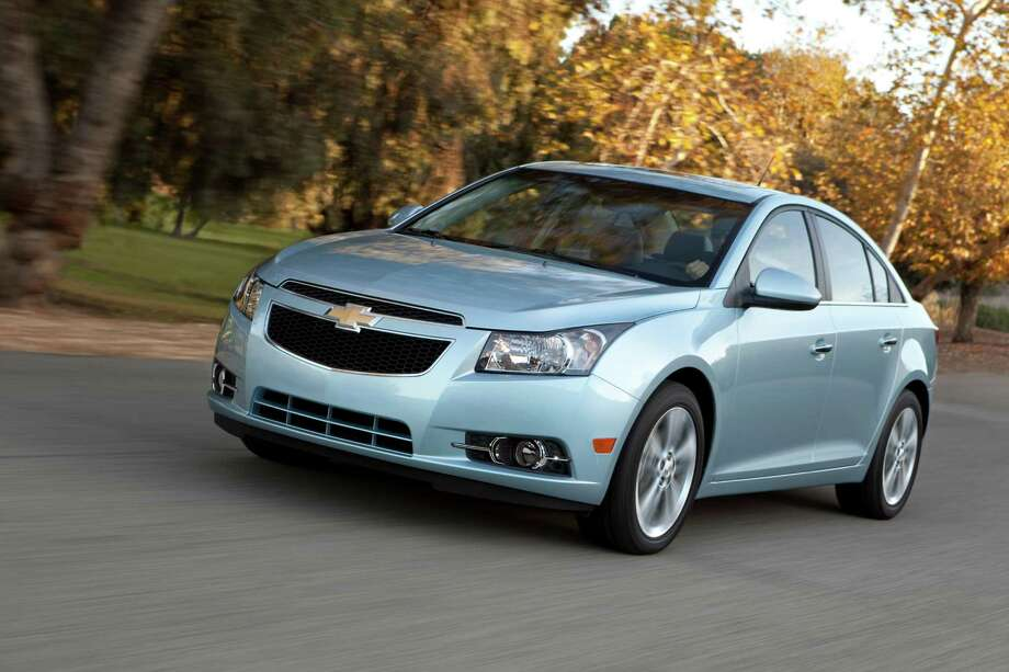 "The Cruze ""took off like a shot out of a cannon and never looked back,"" Carolyn Cross says, describing the model's hot sales at Lone Star Chevrolet. Photo: GM / License Agreement - Please read"