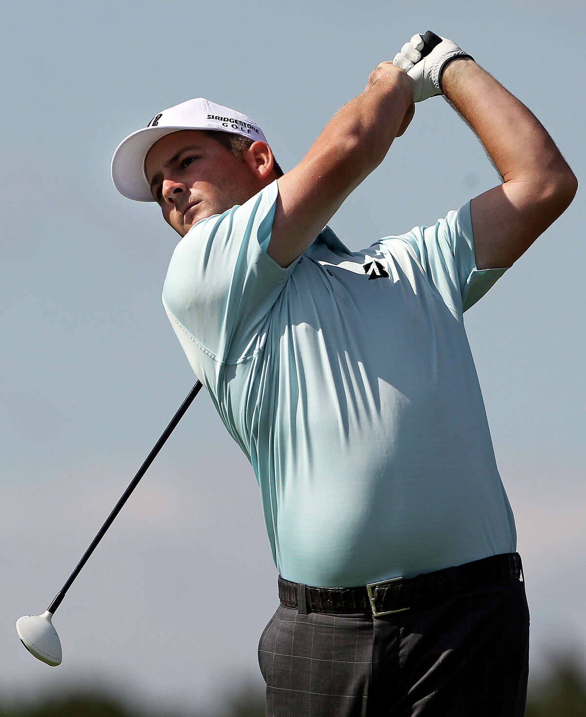 Matt Every hits his drive on the 4th hole during the second round of the 2012 Valero Texas Open on Friday. Tom Reel/ San Antonio EXpress-News