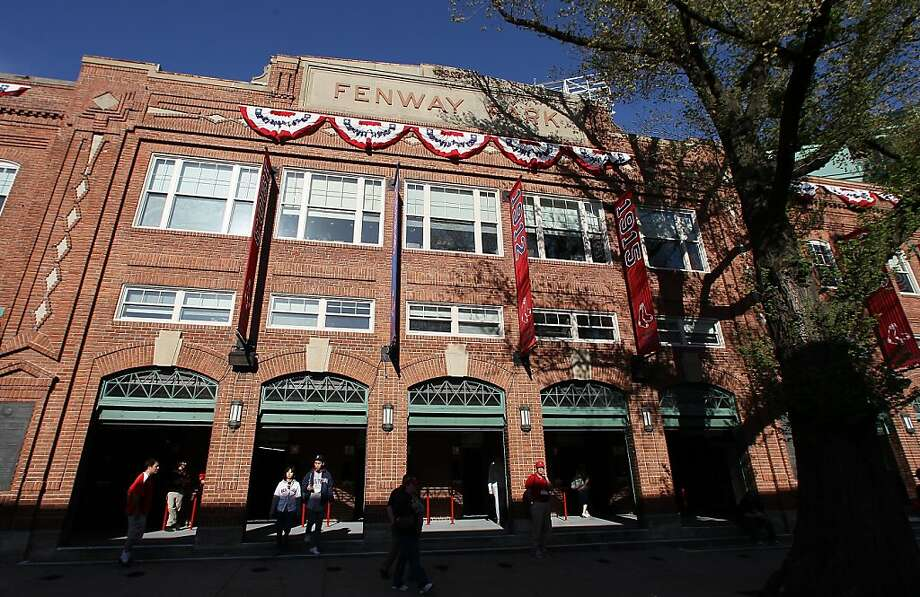 2. Fenway Park, home of the Boston Red Sox. Homes cost $584 per square foot, 2.63 times the area average and second most among Major League ballpark neighborhoods. Photo: Elsa, Getty Images