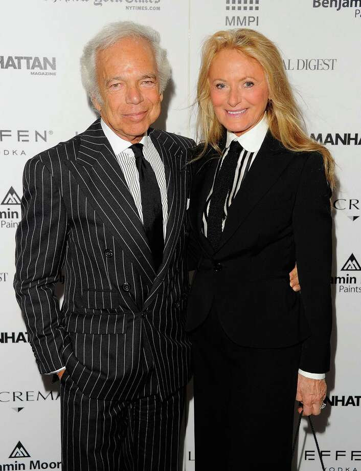 Ralph Lauren and Ricky Lauren attend DIFFA\u0026#39;s 15th annual Dining by Design Dinner gala at Pier
