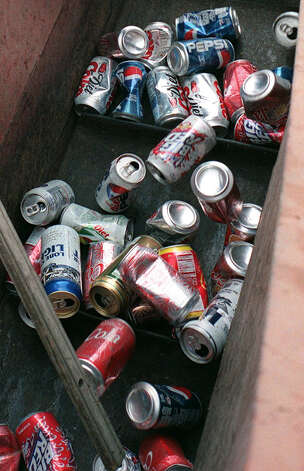 More than a half-dozen businesses in San Antonio accept aluminum cans for recycling. Photo: Leland Outz/Special To The Expre, Express-News File Photo