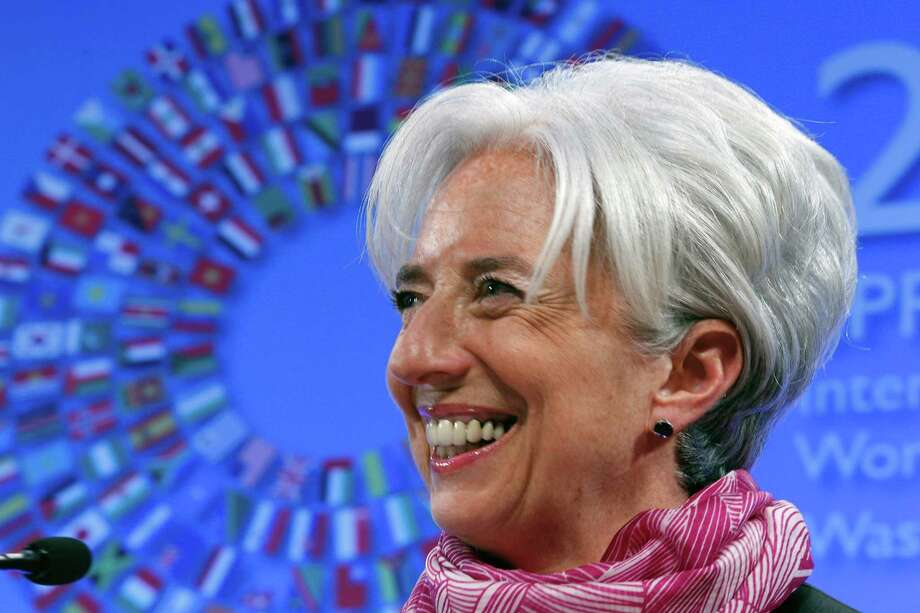 8. IMF Managing Director Christine Lagarde  Photo: Jose Luis Magana / FR159526 AP