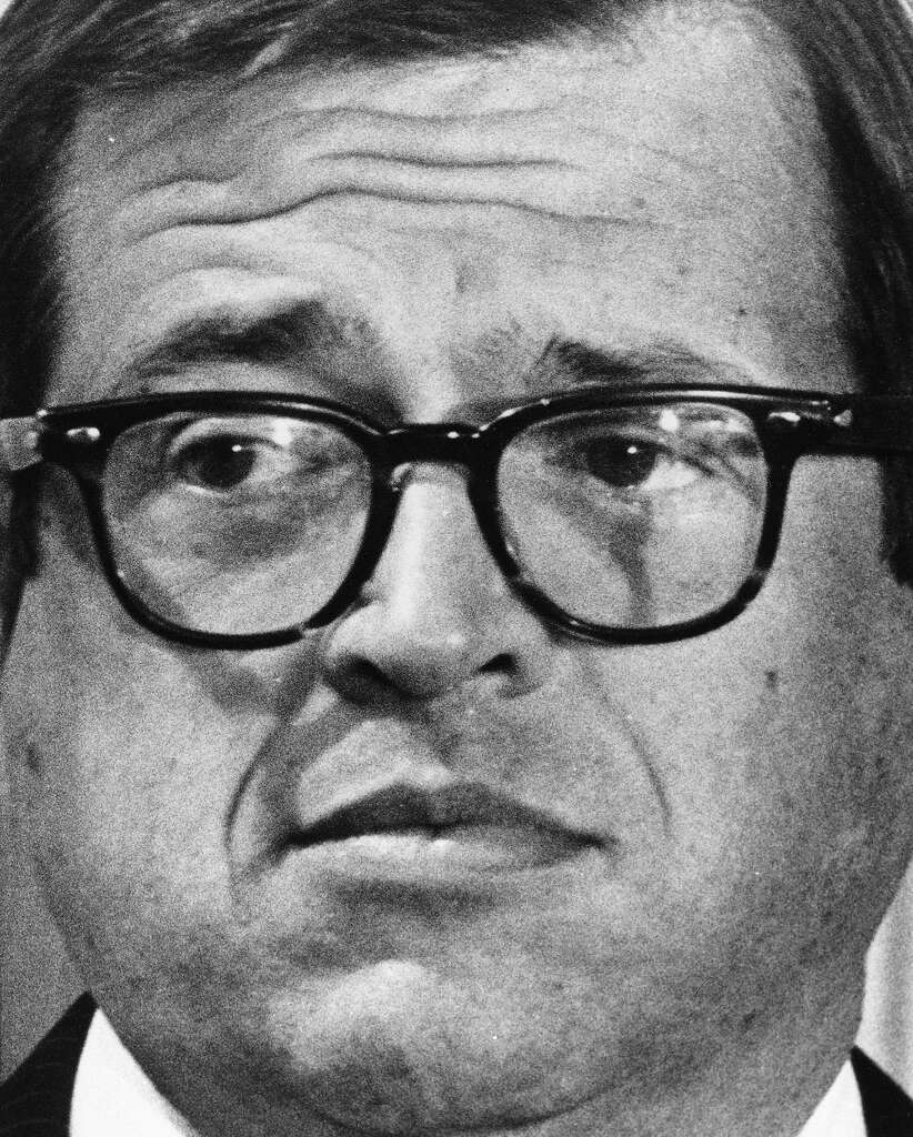 FILE - In this March 1, 1974 photo, former White House attorney Charles Colson