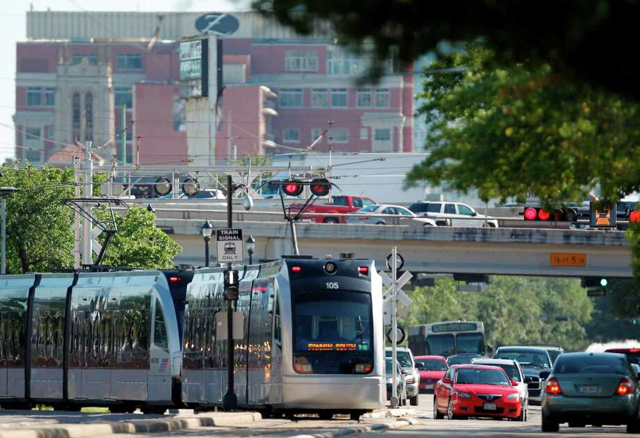 Houston's biggest concerns were similar to residents of Copenhagen, Denmark, but very different reasons.In Houston, a major concern is traffic. And with bizarre traffic incidents and drivers such as the following, how can you blame them? Photo: Mayra Beltran / © 2012 Houston Chronicle