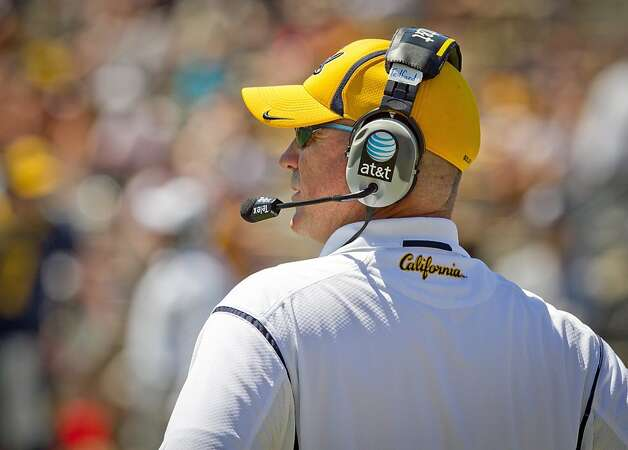 Head coach Jeff Tedford during the Cal Football Spring practice at Edwards Stadium in Berkeley, Calif. on Saturday, April 21, 2012. Photo: John Storey, Special To The Chronicle