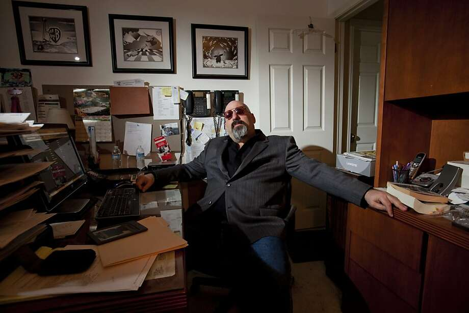 Larry Levine, who was in jail for 10 years on narcotics trafficking, counterfeiting, and weapons charges, and now runs a business as a prison consultant, in his office in Moorpark, Calif., March 20, 2012. The prison consultant profession is attracting a new crop of ex-cons who believe they can put their experience to work, rather than have it burden them in a tough job market. (Stephanie Diani/The New York Times) -- PHOTO MOVED IN ADVANCE AND NOT FOR USE - ONLINE OR IN PRINT - BEFORE APRIL 8, 2012. -- Photo: Stephanie Diani, New York Times