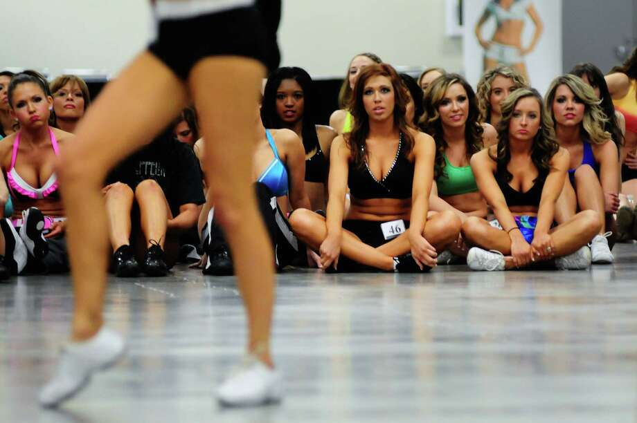 Contestants watch as others perform their routines. Photo: LINDSEY WASSON / SEATTLEPI.COM