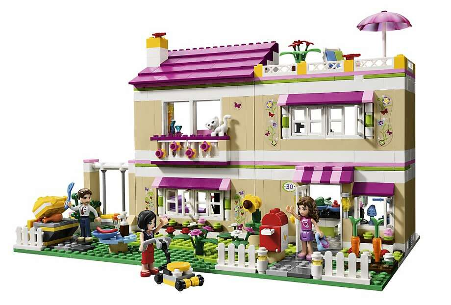 "In 2012, the Lego Group launches a new product line targeted for girls called ""Lego Friends.""  This set is called ""Olivia's House"" Photo: Lego"