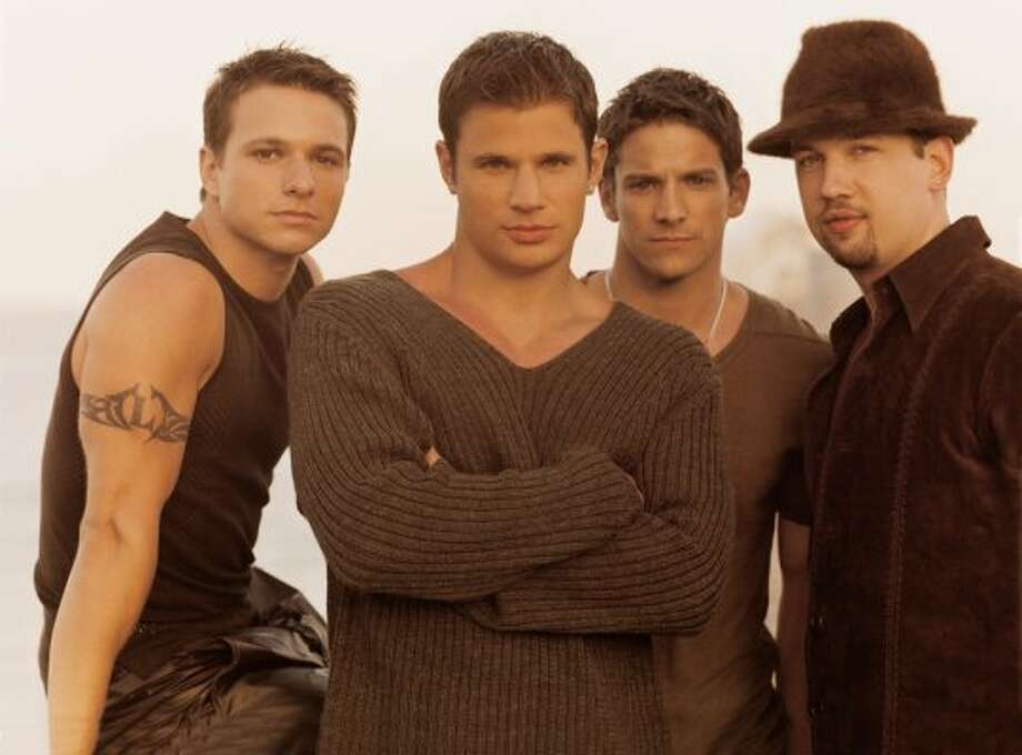 98 Degrees Members: Nick Lachey, Drew Lachey, Jeff Timmons and Justin Jeffre. Year established: 1996
