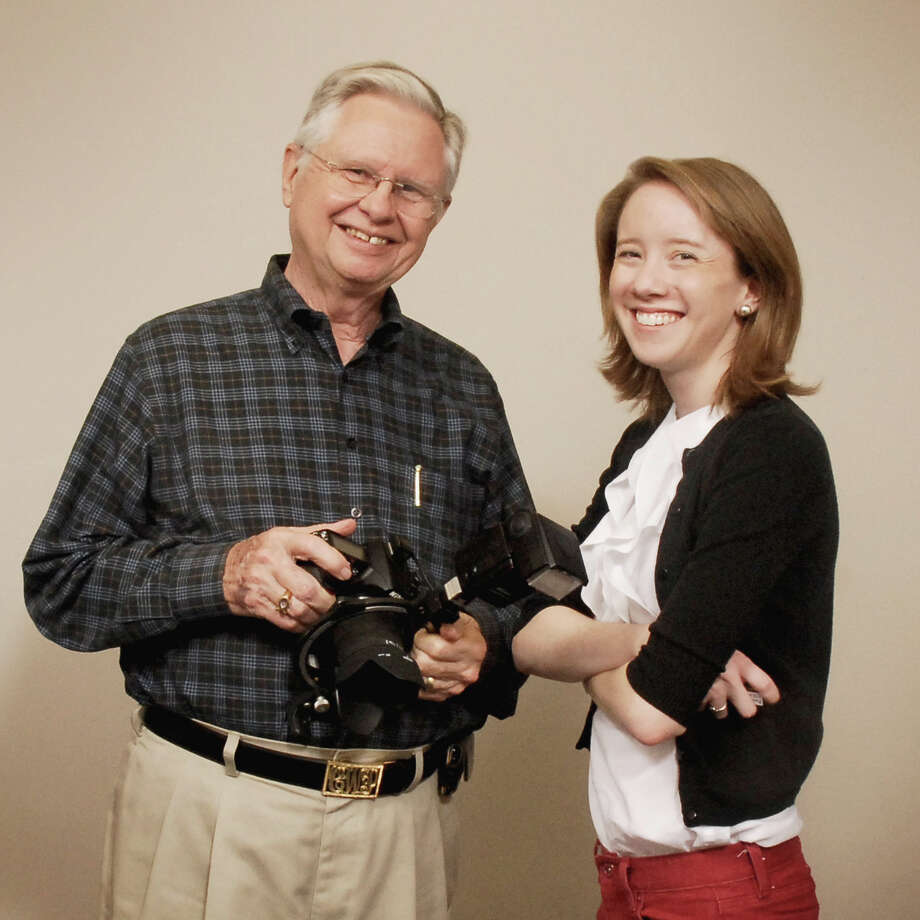 Famed local photographer and Terrell Hills leader Charles Parish has sold his 48-year-old business to 23-year-old upstart, Jenna-Beth Lyde. Photo: Carole Miller / For North Central News