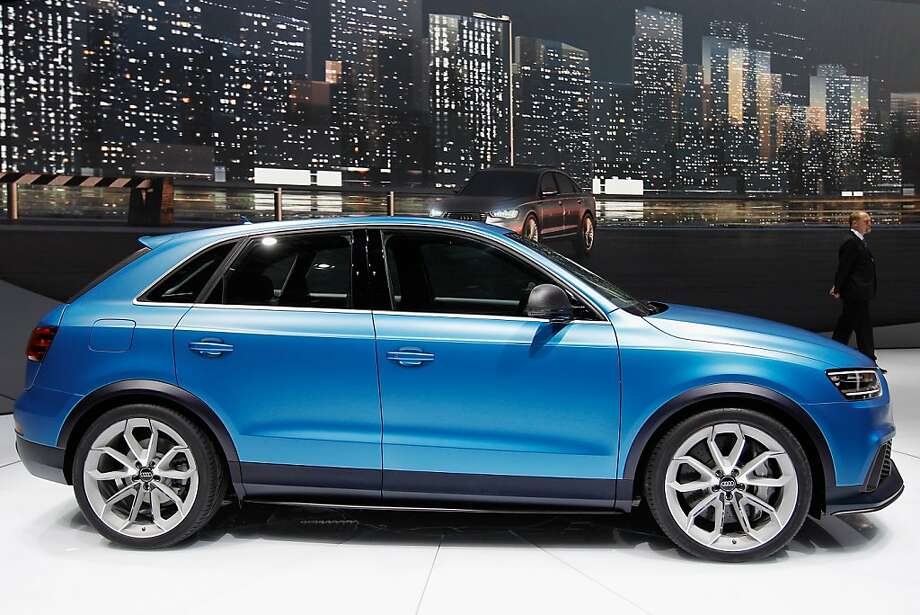 BEIJING, CHINA - APRIL 23:   A Audi RS Q3 conception car is displayed during the media day of the 2012 Beijing International Automotive Exhibition at beijng International Exhibition Center on April 23, 2012 in Beijing, China. Auto China is China's leading auto show and many of the world's carmakers are in attendance despite lagging sales in the country.  (Photo by Lintao Zhang/Getty Images) Photo: Lintao Zhang, Getty Images