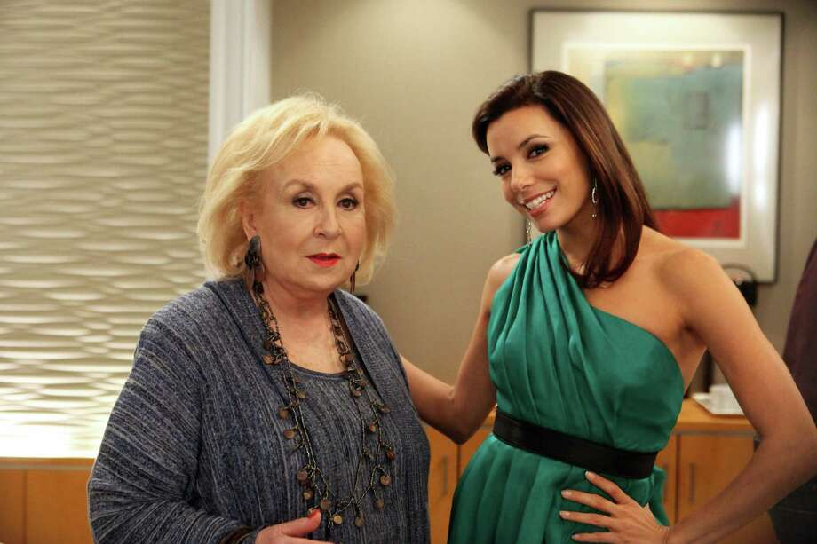 "Doris Roberts, left, plays a wealthy widow who hires Gaby Solis (Eva Longoria) to be her personal shopper when ""Desperate Housewives"" returns. Photo: ABC / © 2012 American Broadcasting Companies, Inc. All rights reserved."