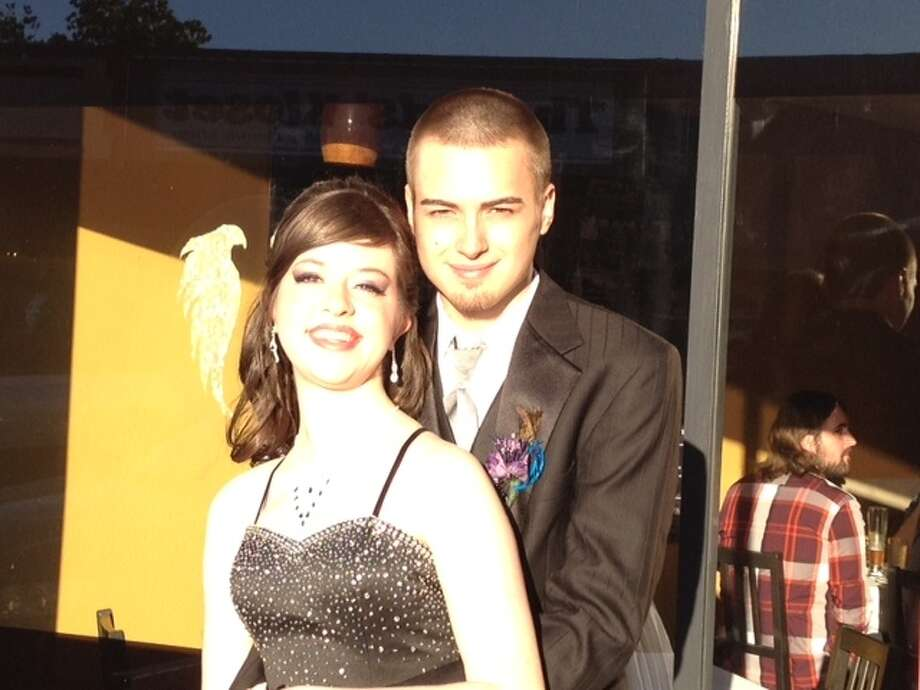 Michael Weber and Cierra Frederick, Nederland High School 2012 prom. Reader submitted photo.
