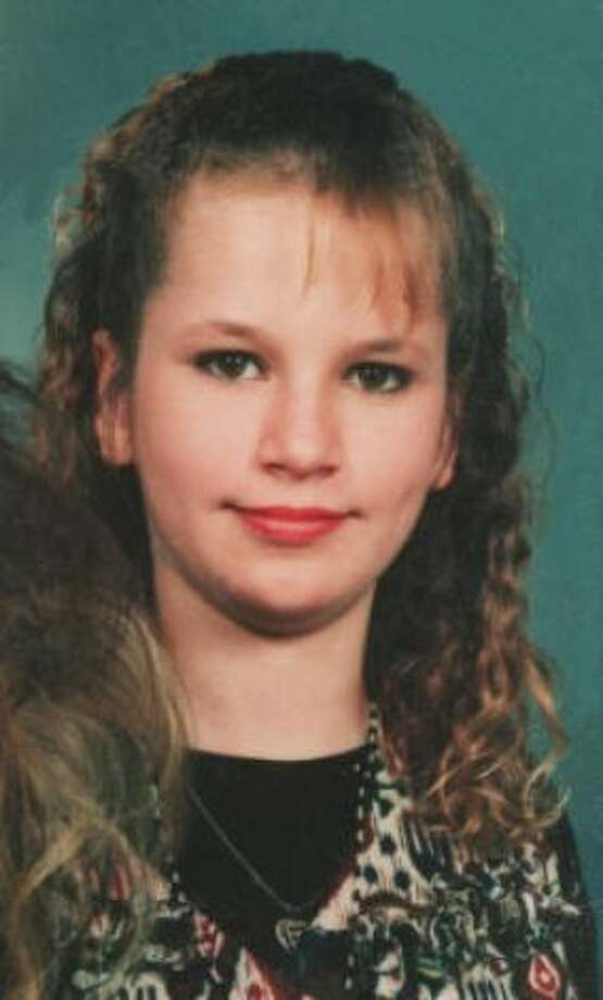 Krystal Jean Baker at age 13. Photo provided by McLemore Family/Houston Chronicle.