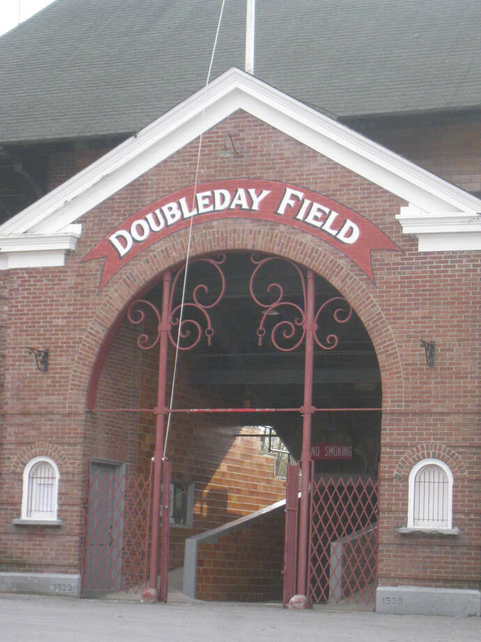 The Doubleday Field entrance in Cooperstown, N.Y. Photo: Pat Pickens