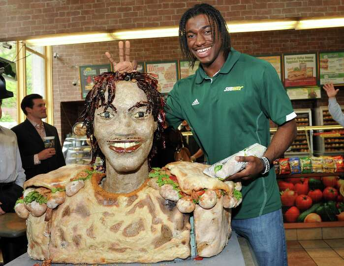 COMMERCIAL IMAGE - In this photograph taken by AP Images for SUBWAY, newest SUBWAY Famous Fan Robert