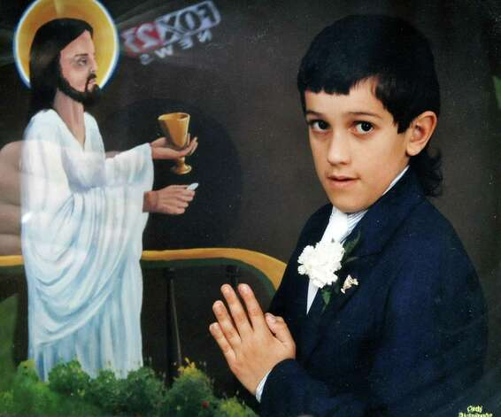 Photo courtesy of the Morales family:  First communion photo of alleged sexual abuse victim Ivan Morales Jr.,   (John Carl D'Annibale / Times Union) / 00017387A