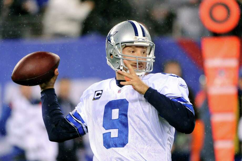 Tony Romo had his best season as the Cowboys' quarterback in 2011, with 4,184 passing yards, 31 TDs and 10 interceptions. Photo: AP