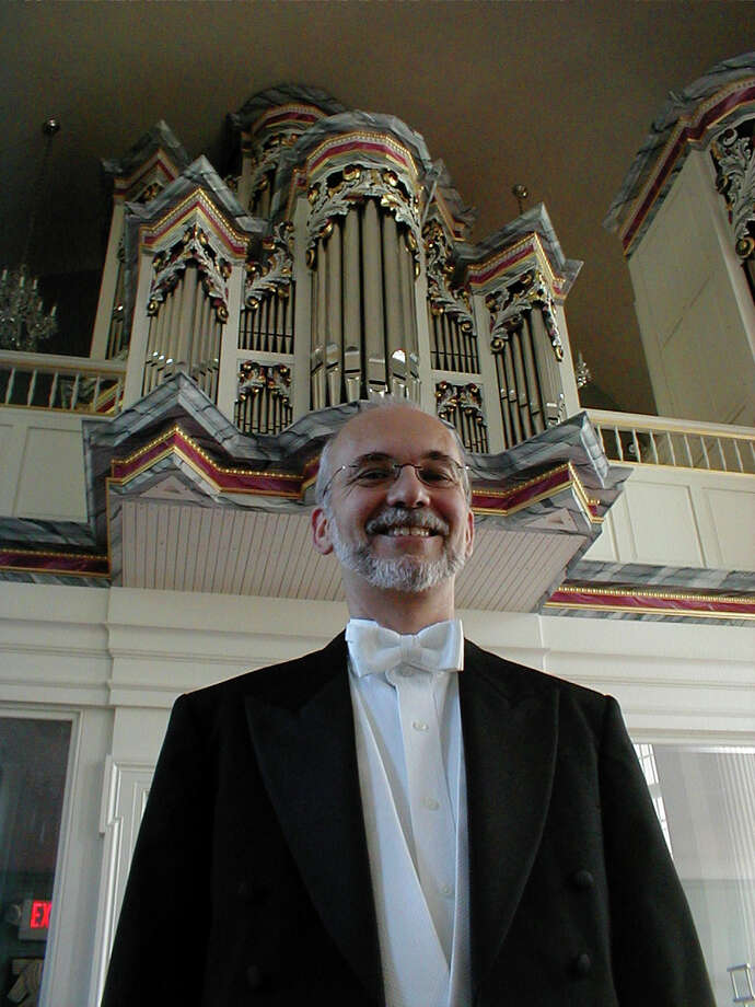 First Presbyterian Church organist Stephen Rapp, above, will perform at the church April 28 at 11 a.m. Photo: Contributed Photo