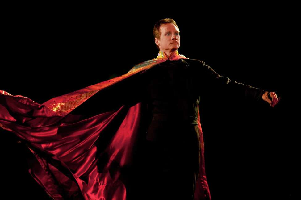 Brian Miser, aka The Human Fuse (Courtesy of Ringling Bros. and Barnum & Bailey)