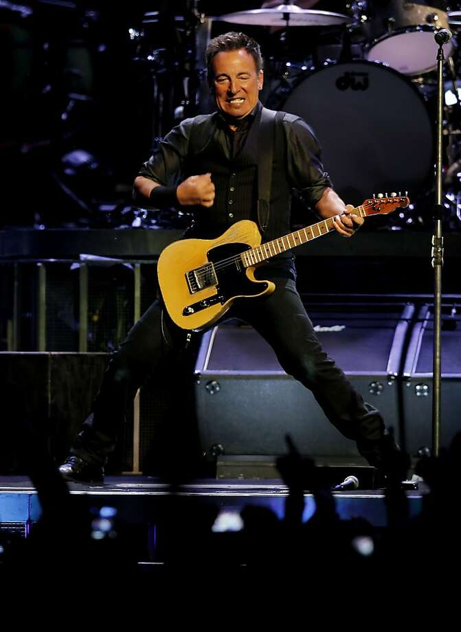 Bruce Springsteen and the E Street band play a concert, on Tuesday April 24, 2012, at HP Pavilion in San Jose, Ca. Photo: Michael Macor, The Chronicle