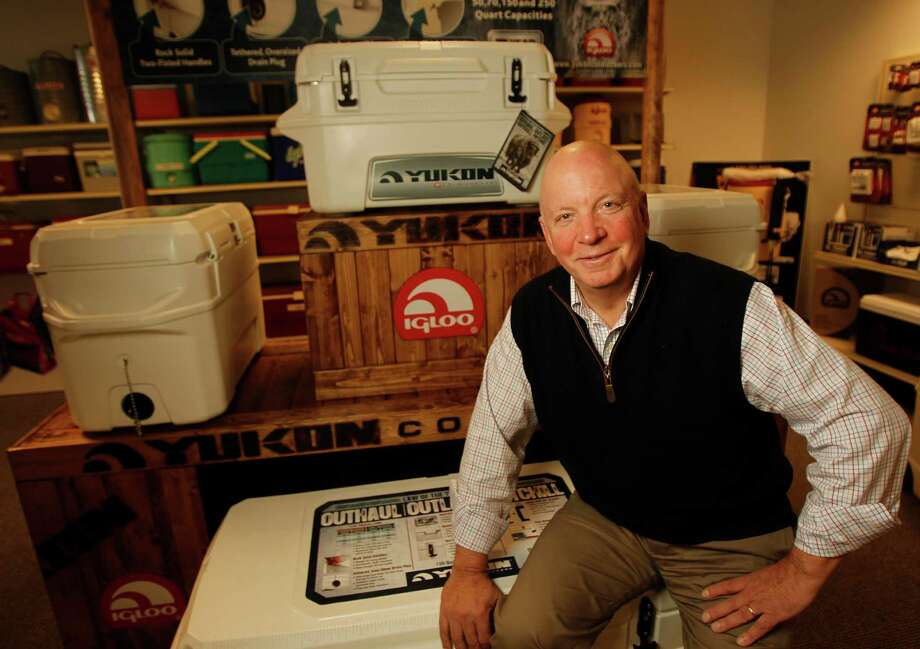 Igloo Products Corp. Chairman Gary Kiedaisch says he moved to jump-start product development in 2008. Photo: James Nielsen, Houston Chronicle / © 2011 Houston Chronicle