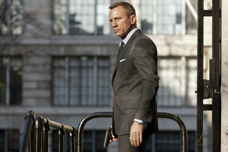 Undated handout photo issued by Sony Pictures of Daniel Craig in a still from the new James Bond film Skyfall, Thursday, April 19, 2012. (AP Photo/Francois Duhamel/Sony Pictures, PA)  UNITED KINGDOM OUT, NO SALES, NO ARCHIVE Photo: Francois Duhamel, AP / PA Sony Pictures