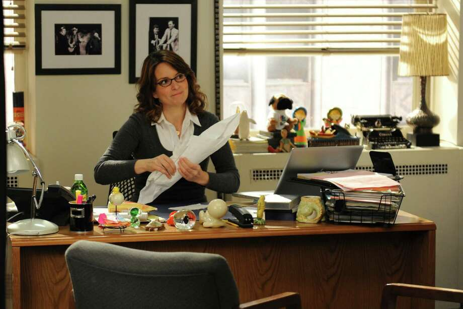 "Tina Fey's ""30 Rock"" character, Liz Lemon, has had plenty of clumsy moments. (Credit: Ali Goldstein) Photo: Ali Goldstein / 2012 NBCUniversal Media, LLC"