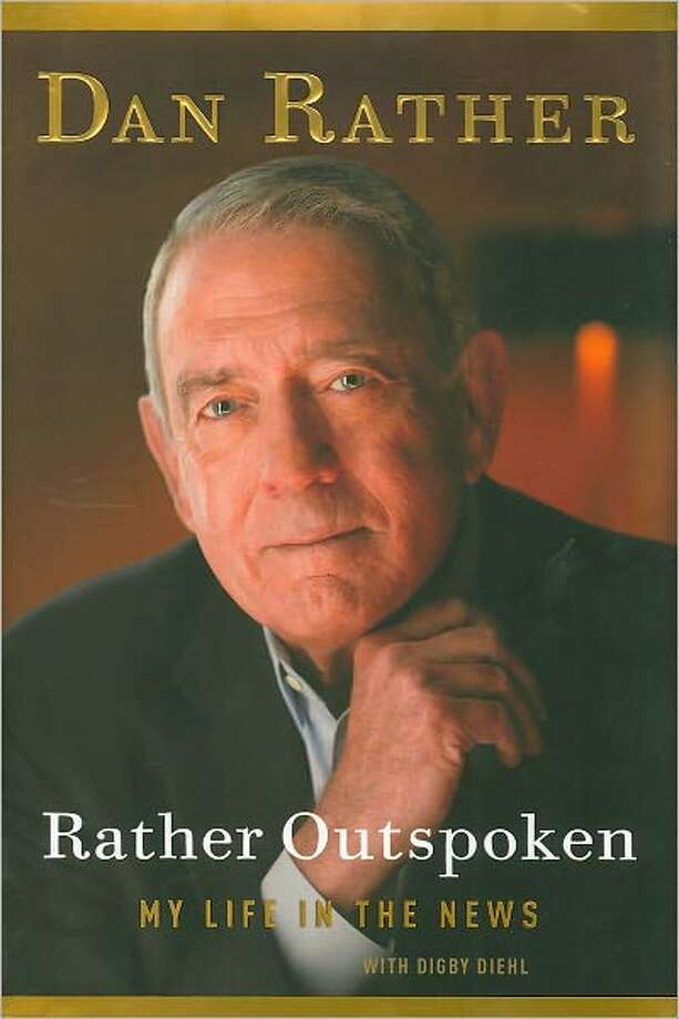 "Cover image for Dan Rather's book: ""Rather Outspoken"" Photo: Xx"