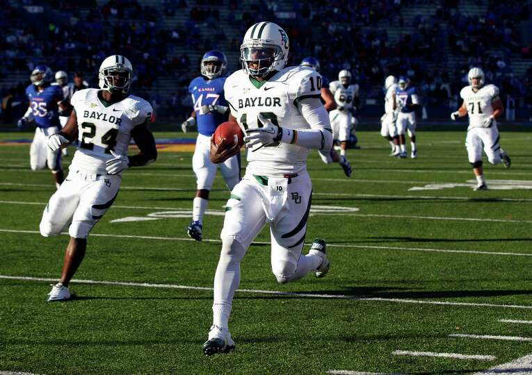 FOR USE AS DESIRED WITH NFL DRAFT STORIES - FILE - In this Nov. 12, 2011, file photo, Baylor quarter