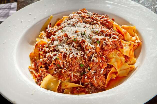 Pappardelle with Beef and Pork Ragu at Divino Restaurant in Berkeley, Calif. is seen onThursday, April 19th, 2012. Photo: John Storey, Special To The Chronicle